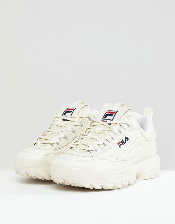 Fila Disruptor Sneakers In Blush
