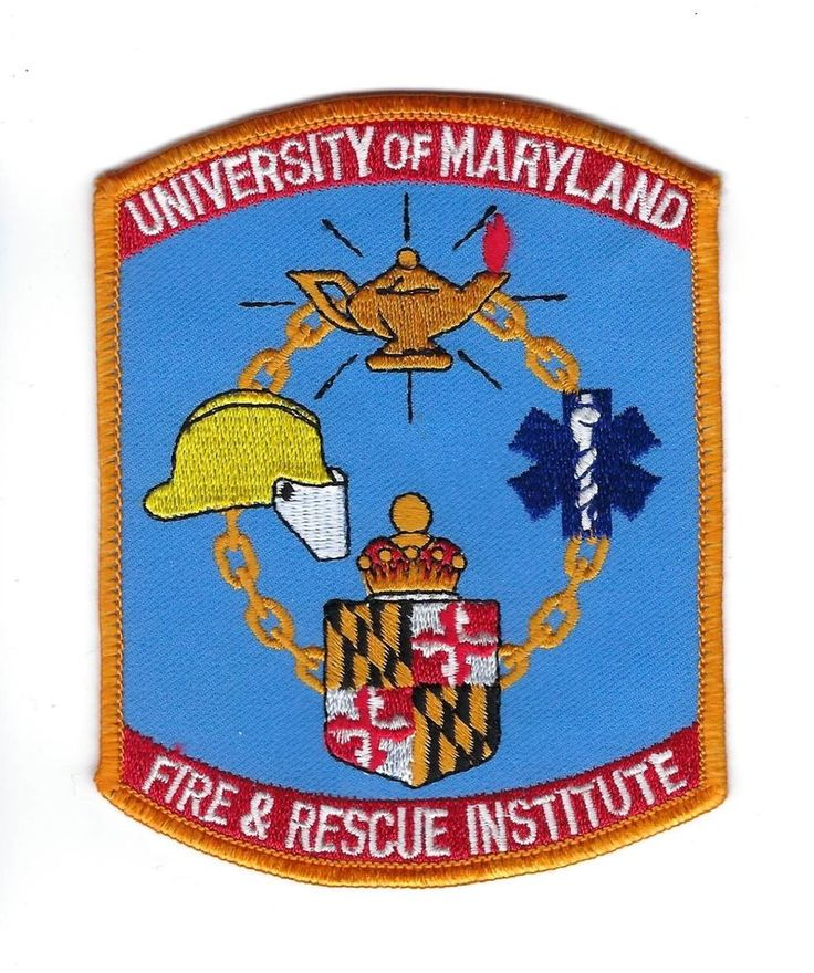 University of Maryland MD Fire & Rescue Institute patch - NEW!