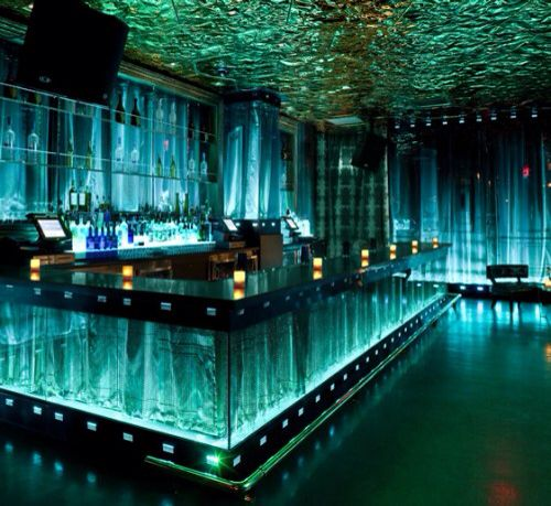 A Water Themed Bar Is Unusual But Not Unheard Of. With