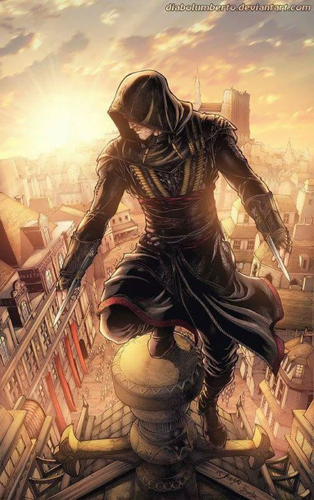 Ezio Auditore<< isn't that aguillar from the movie?