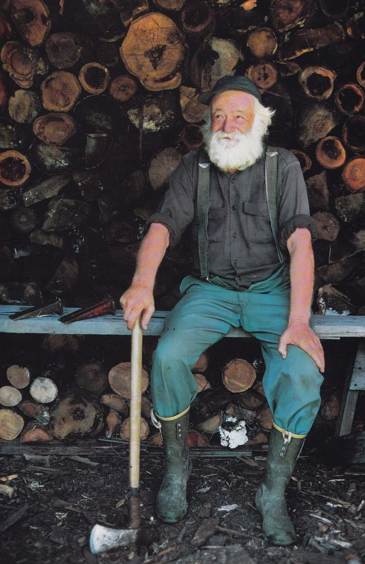 Seventy years young.: Beards, This Man, Old Mans, Lumberjacks, Chops Wood, Hard Workers, Beautiful People, Christmas Trees, Places Gifts