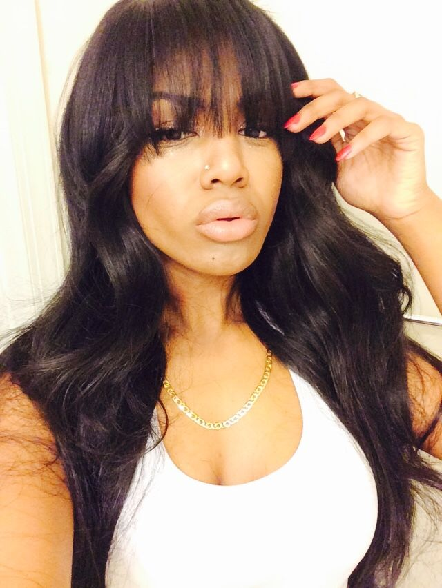 chinese bangs hairstyle pictures : ... Bangs Hairstyles on Pinterest Bangs, Big curl perm and Hairstyles