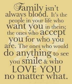 I have pinned this before. We have all seen this one. So true. Don't let what was an absent parent demand your loyalty. Regardless of what you can get out of it. Look around and see who was therefor all the years not who just popped into the present. Many families have non blood relatives who love less, the same, or even more than blood. Put things where they fit. We just spend hours discussing this in discussion. When there's love there is success.