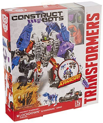 Transformers Age of Extinction ConstructBots Dinobot Warriors Autobot Hound and Wide Load Dino Buildable Action Figure *** Continue to the product at the image link.Note:It is affiliate link to Amazon.
