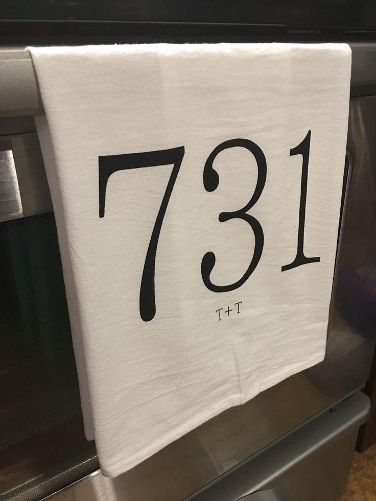 Area Code 731 Tea Towel