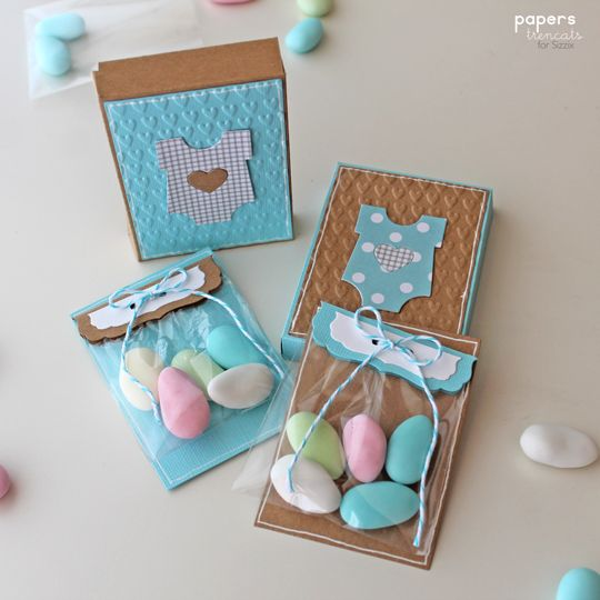 Crafting ideas from Sizzix UK: Baby Shower favours