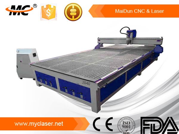 A CNC router can be used in the production of many different items, such as door carvings, interior and exterior decorations, wood panels, sign boards, wooden frames, moldings, musical instruments, furniture, and so on. In addition, the CNC router helps in the thermoforming of plastics by automating the trimming process. CNC routers can help ensure part repeatability and sufficient factory output.
