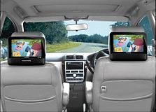 "Philips Portable DVD Player  22.9 cm (9"") LCD, Dual screens - we only use ours for car trips over 3 hours."