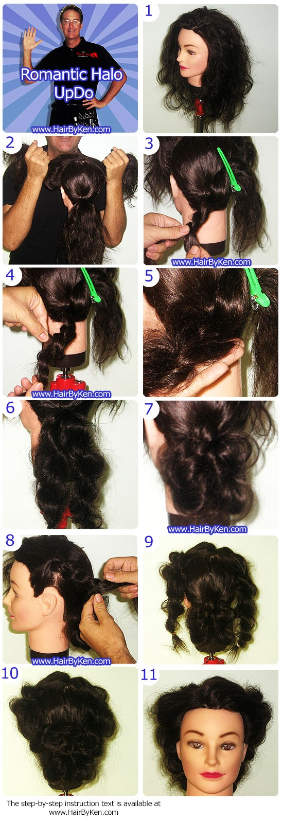 step hairstyles 2. romantic