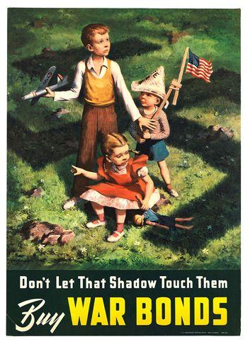WW2 war bond poster
