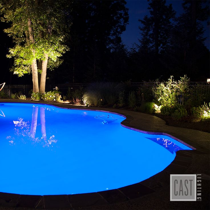 Good Landscape Lighting Not Only Makes Pool Design More Beautiful And  Inviting At Night, It