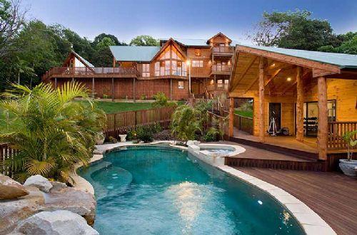 Dream Houses: Dream house: Swimming Pools, Dream Cabin, Dream Homes, Pools House, Dream House, Dream Place, Logs House, Mountain House, Logs Cabin