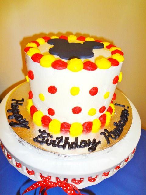 St Mickey Mouse Birthday Cake