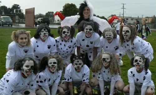 Fussball Mannschaft 101 Dalmatiner Kostüme