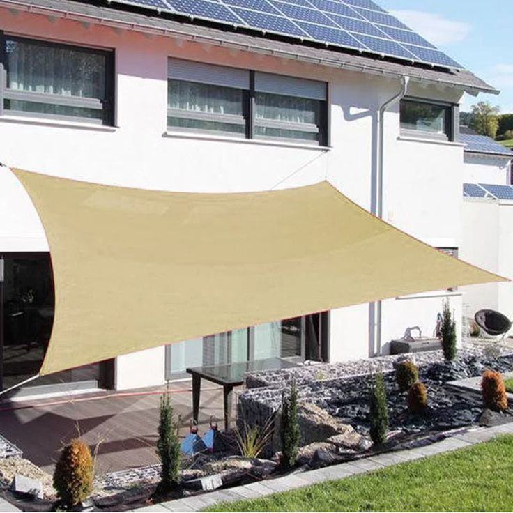 how to install a shade sail youtube