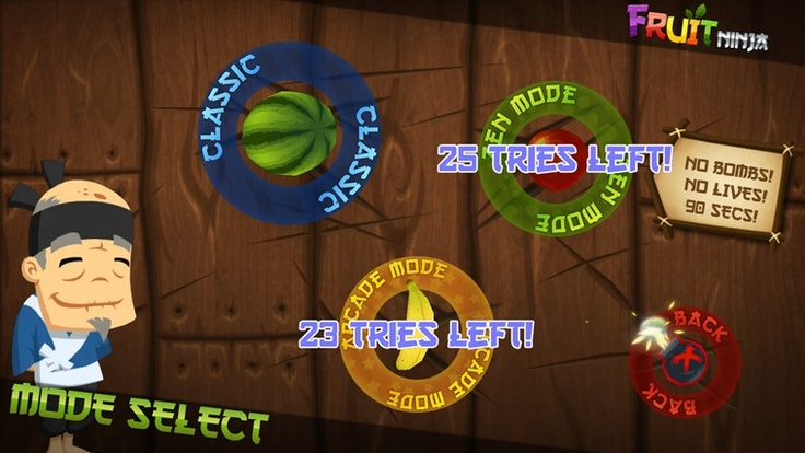 Fruit Ninja - Windows 8 Game