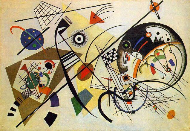 kandinsky abstraccion lirica