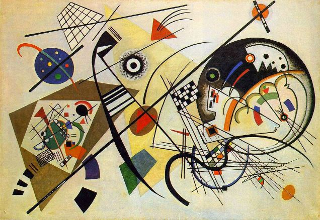 kandinsky abstraccion lirica