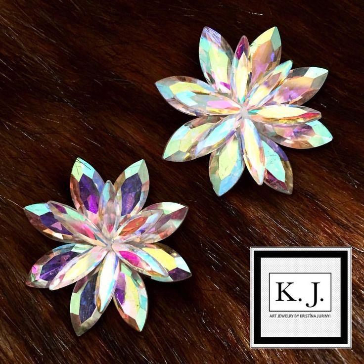 """Páči sa mi to: 8, komentáre: 1 – ArtJewelry by Kristína Jurinyi (@k.j.artjewelry) na Instagrame: """"#artjewelrybykristinajurinyi #handmadejewelry #aurora #dance #earrings…"""""""