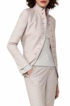 Alternate Image 1  - Akris Stretch Wool Flannel Jacket