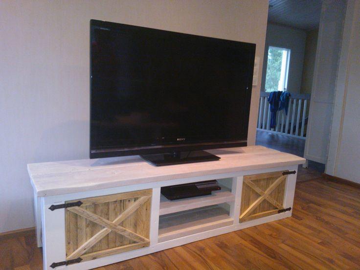 Best 25 wood tv stands ideas on pinterest reclaimed wood tv stand diy tv stand and tv - Reclaimed wood tv stand ideas ...
