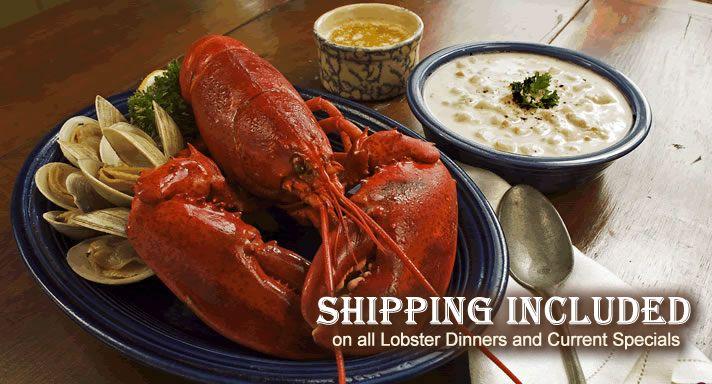Buy Fresh Seafood Online | Jameshook Lobster #food #bar #restaurant #cooks #caterers