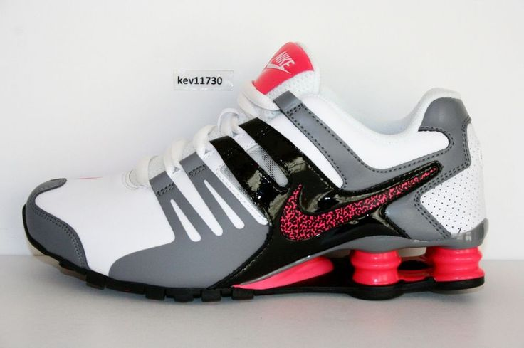 Nike Shox Current White Hyper Pink GreyBlk # 639657 104 Womens Running Shoes sz #Nike #RunningCrossTraining
