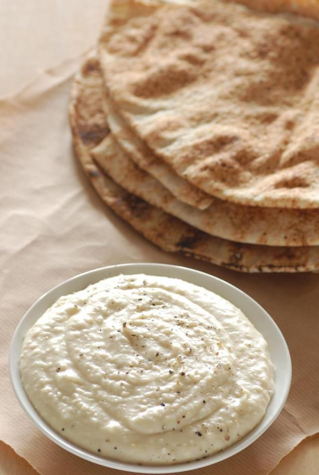 This hummus recipe uses white beans instead of traditional chickpeas. Try this for a tasty alternative to chickpea based hummus.