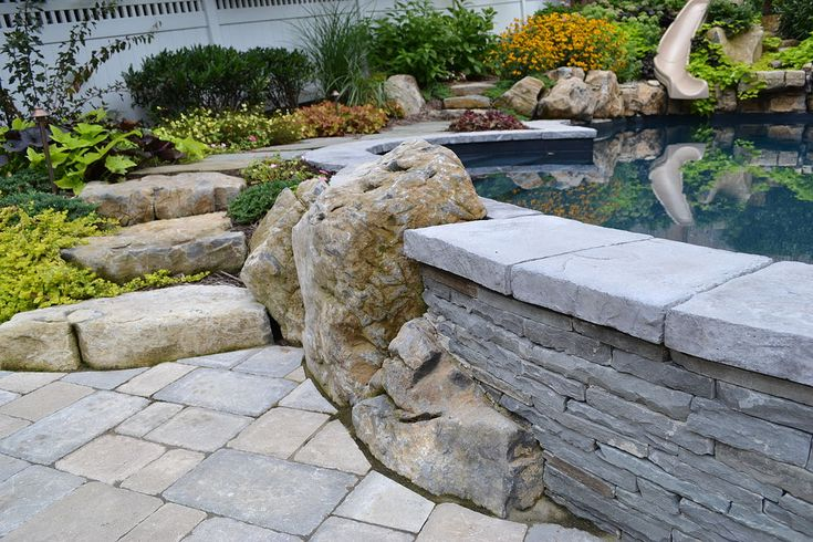 Want to see an awesome pool and spa in a small backyard? | Hometalk