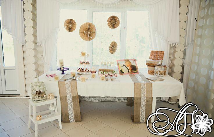 Candy-bar in rustic style/ Сладкий стол в стиле Рустик