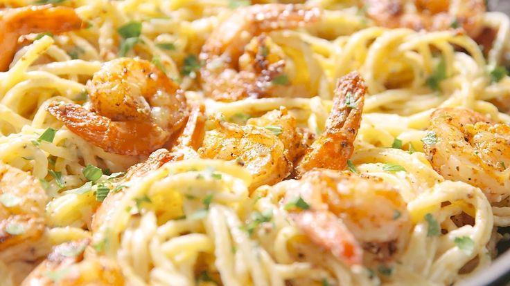 This Cajun Shrimp Pasta Is Insanely Bangin'
