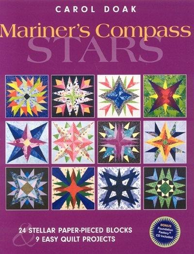 Mariner S Compass Stars 24 Stellar Paper Pieced Blocks
