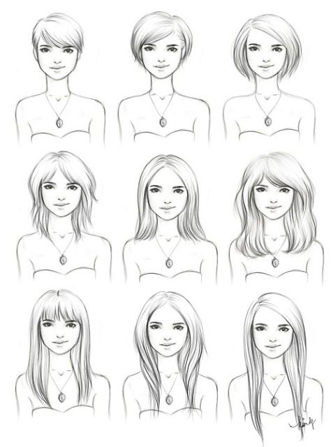 8 best hair images on pinterest hairstyles blonde lob and drawing ive been waiting for this to show up such a great map for growing out hair also good for references on drawing hair urmus Image collections