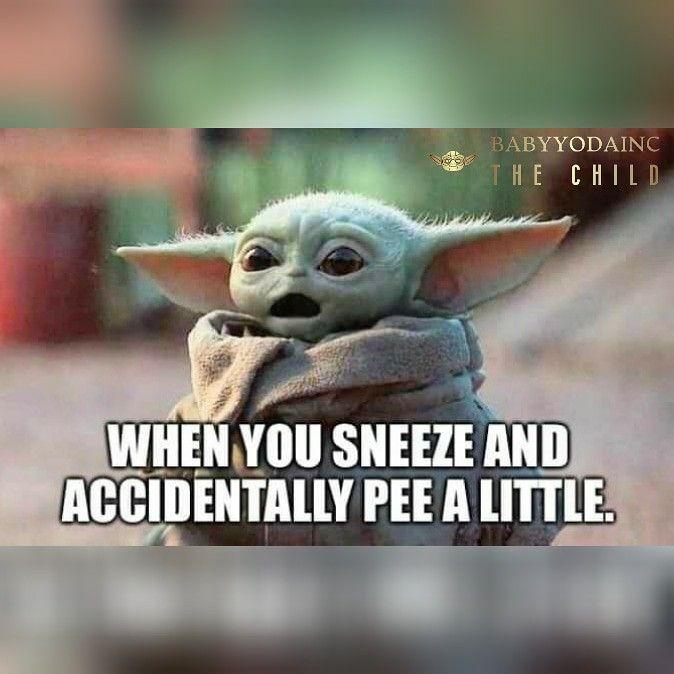 Baby Yoda In 2020 Yoda Star Wars Jokes Star Wars Humor