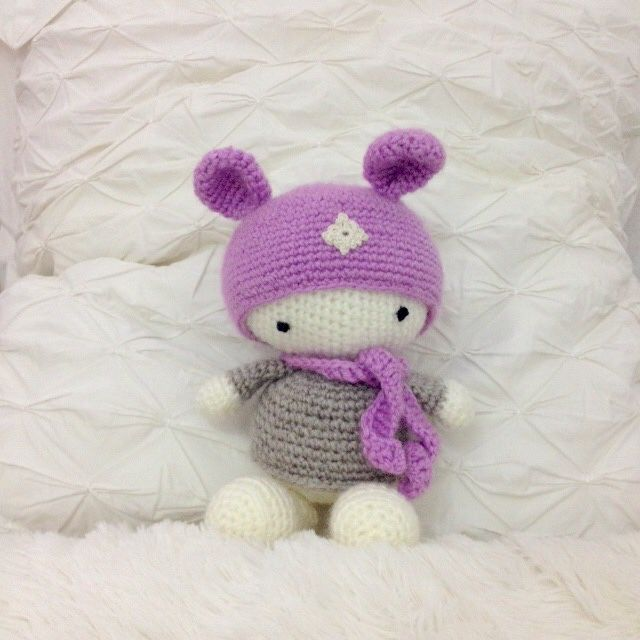 Amigurumi Rabbit For Beginners : 17 Best images about My Crochet on Pinterest Free ...
