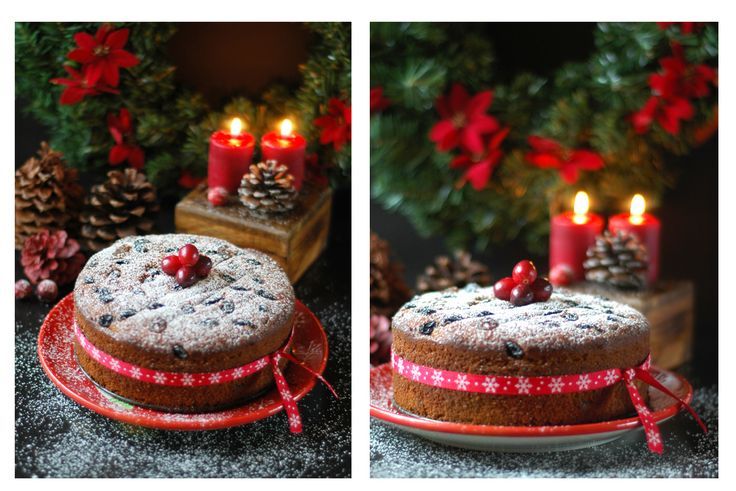 Rum Soaked Christmas Fruit Cake