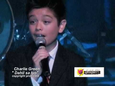 "British Got Talent's Charlie Green sings Philippine love song "" Dahil Sa Iyo"" - YouTube"