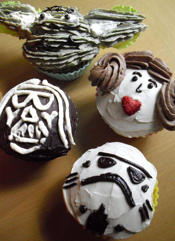 raw vegan starwars cupcakesStarwars Cupcakes, Stars Wars Cake, Birthday Parties, Cake Wreck, Cake Ideas, Star Wars, Stars Wars Cupcakes, Parties Ideas, Starwars Parties