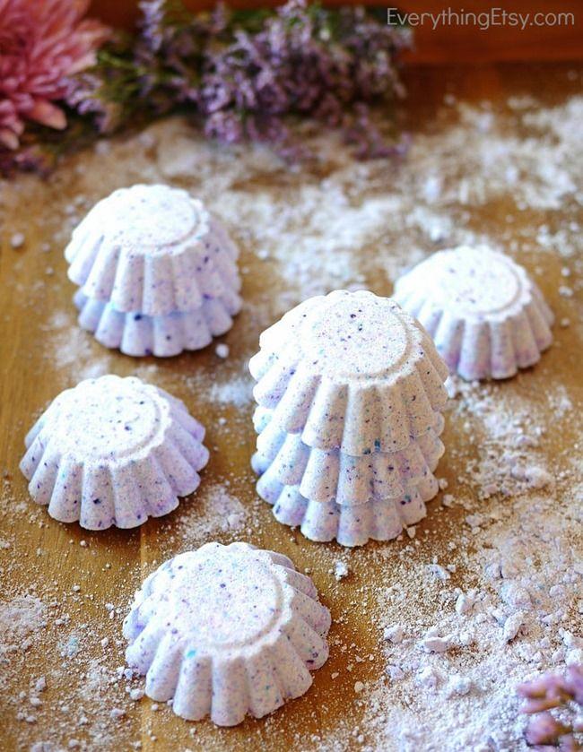 DIY Lush inspired Lavender Bath Bombs