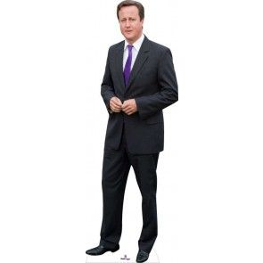 David Cameron Lifesize Cardboard Cutout