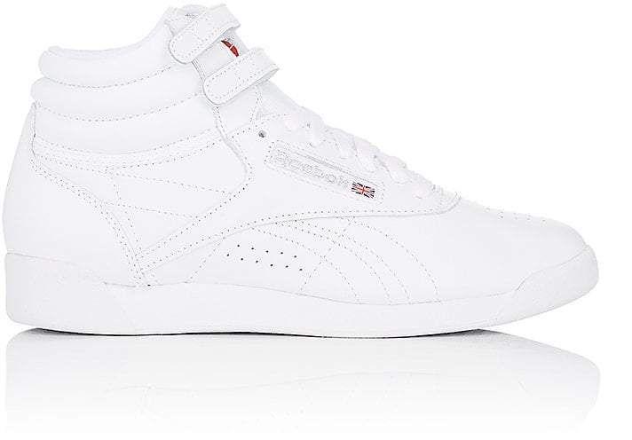 6d2a36ee38e8 Reebok Women's Freestyle Hi Leather Sneakers http://shopstyle.it/l/