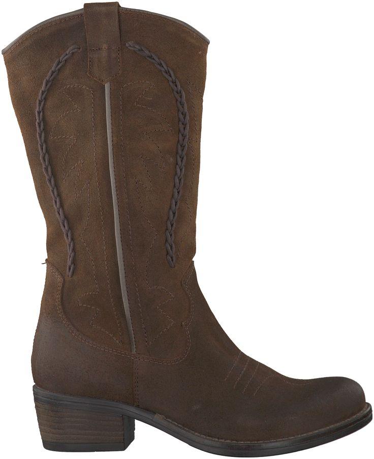 Bruine Omoda Lange laarzen R13505
