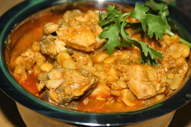 SavisPassions: Chicken Curry with Channa Dal