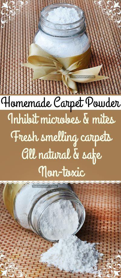 De 20 b sta id erna om homemade carpet powder p pinterest - Often clean carpets keep best state ...