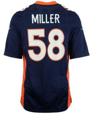 Nike Men's Von Miller Denver Broncos Game Jersey - Blue