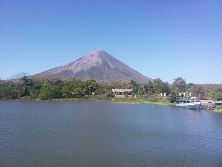 Amazing nature, petroglyphs and maybe freshwater sharks. Isla De Ometepe is a short ferry ride from San Jorge, near Rivas. Two volcanoes make up the islands.