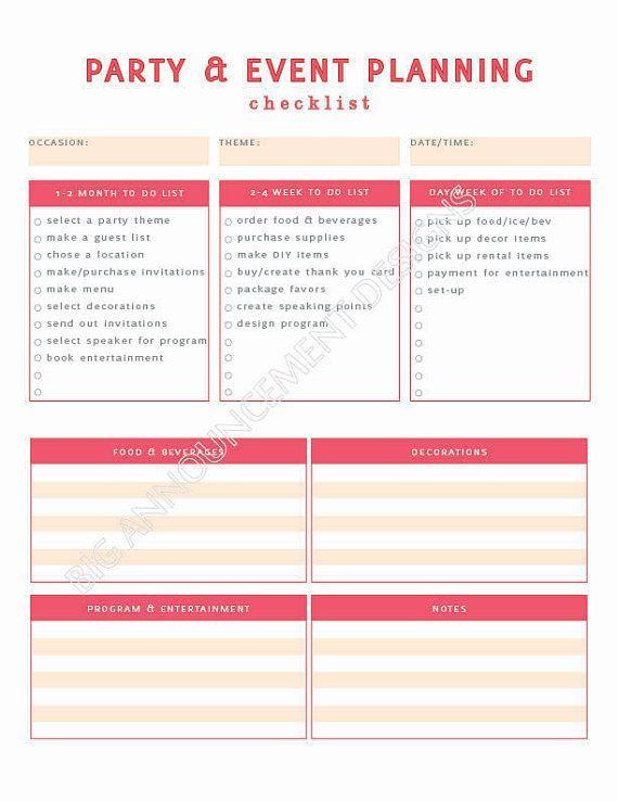 Best 25+ Event planning checklist ideas on Pinterest Party - event planning format