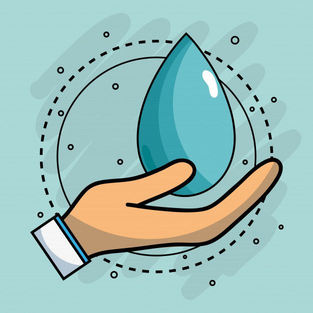 Mano Con Gota De Agua Para El Cuidado De Premium Vector Freepik Vector Agua Diseno Icono Mano Gotas De Agua Dibujo Dibujos De Agua Gotas De Agua