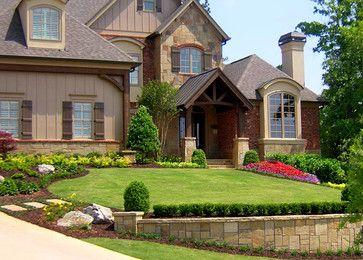 Free Yard Design Plans | Custom Front Yard Landscape Design Ideas,  Pictures, Remodel,