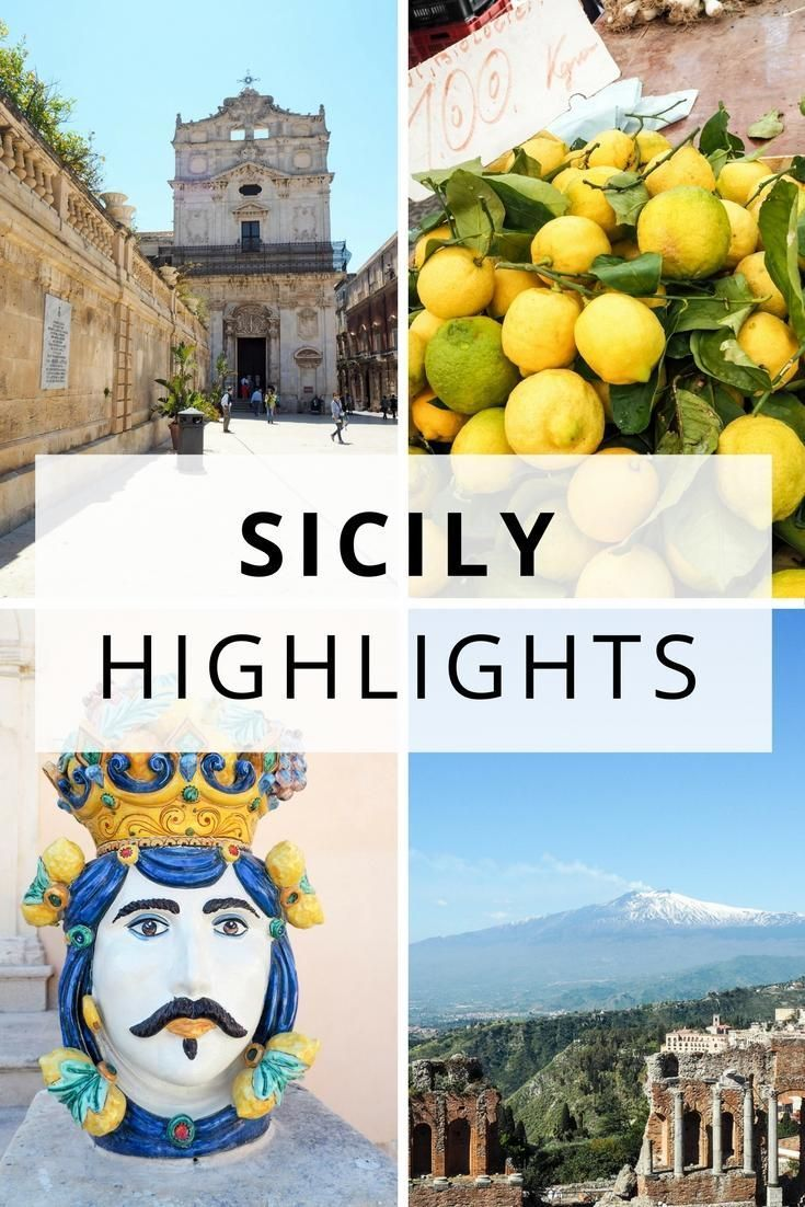 Sicily Italy - travel guide and highlights - Valle dei Templi, Baroque towns of the Val di Noto, Taormina, Ortigia and the coastline